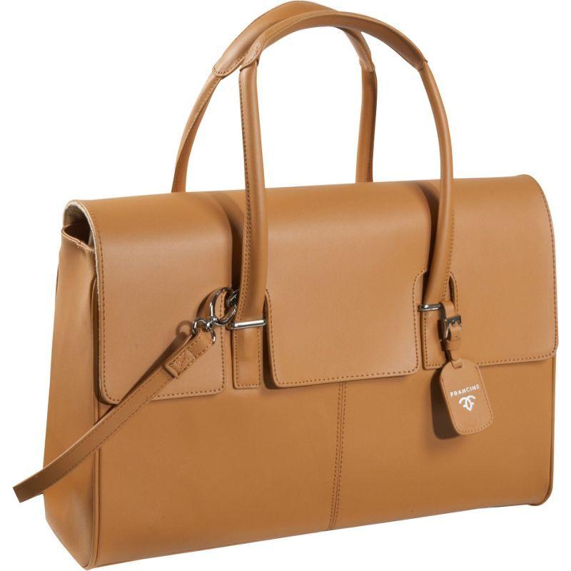 ウーメンインビジネス レディース スーツケース バッグ Francine Collection - London Leather Case Tan