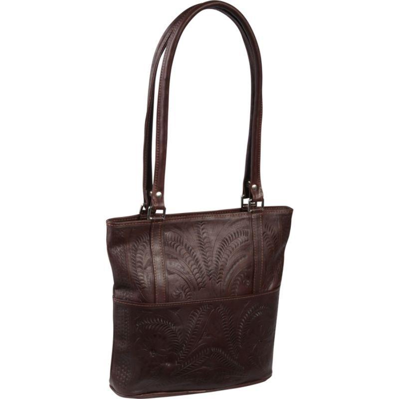 ロピンウェスト メンズ ショルダーバッグ バッグ Tote Bag Brown