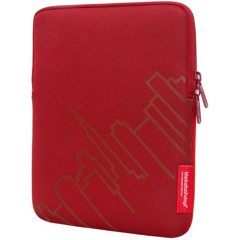 マンハッタンポーテージ メンズ PC・モバイルギア アクセサリー Skyline iPad Sleeve (8-10 in.) Red