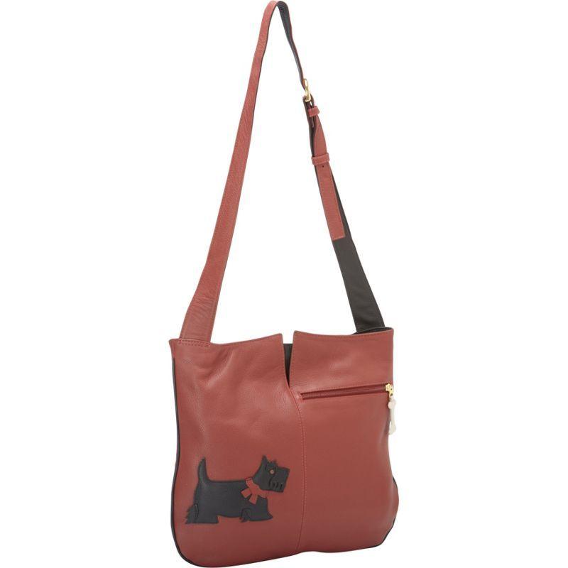 ジェイピーオースアンドシー メンズ ショルダーバッグ バッグ Park Avenue Shoulder Bag Scottie