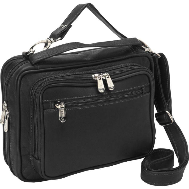 ピエール メンズ ボディバッグ・ウエストポーチ バッグ Multi-Use Cross Body Carry-All Black