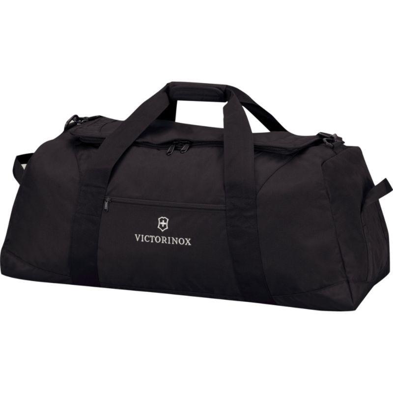 ビクトリノックス メンズ スーツケース バッグ Lifestyle Accessories 4.0 Large Travel Duffel Black/Black Logo