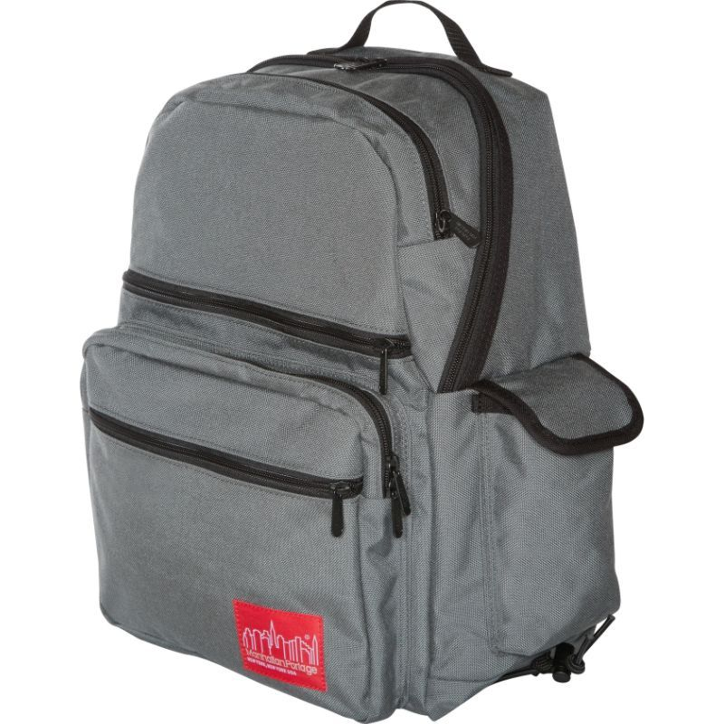 マンハッタンポーテージ メンズ バックパック・リュックサック バッグ Ken's Backpack Gray