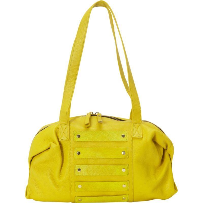 ラティコレザーズ メンズ ショルダーバッグ バッグ Enzo Shoulder Bag Yellow