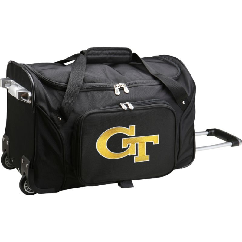 デンコスポーツ メンズ スーツケース バッグ NCAA 22 Rolling Duffel Georgia Institute of Technology Yellow Jackets