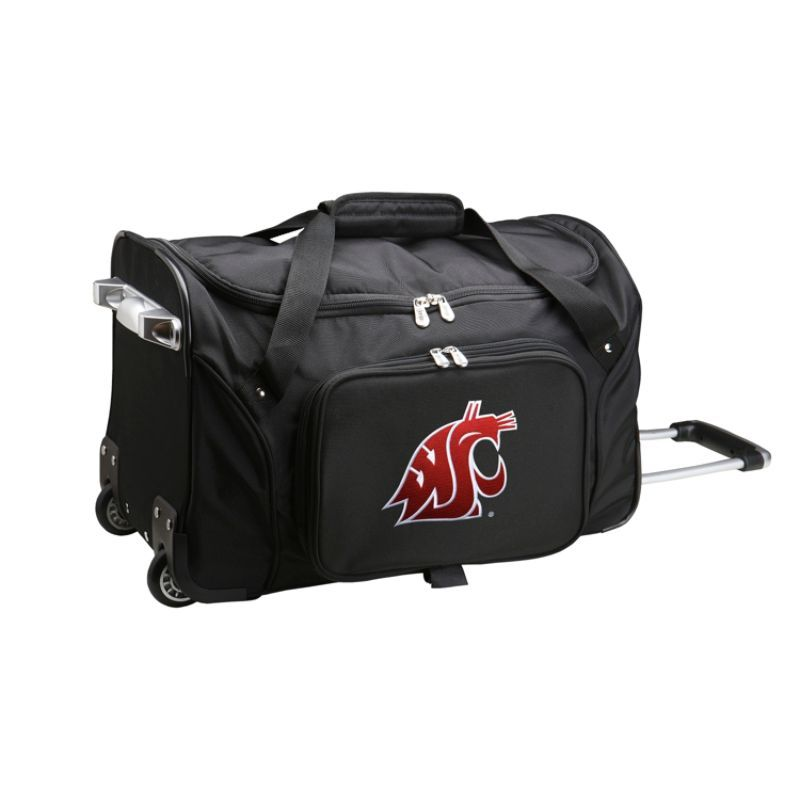 デンコスポーツ メンズ スーツケース バッグ NCAA 22 Rolling Duffel Washington State University Cougars