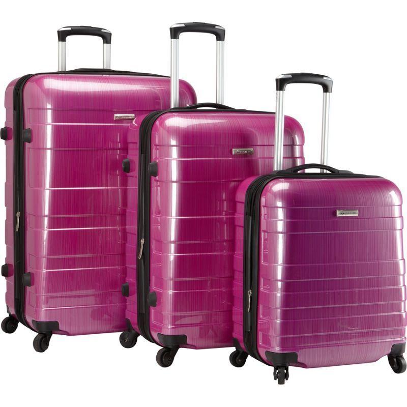 マックブリン メンズ スーツケース バッグ A736 ECO 3pc Set Two tone purple