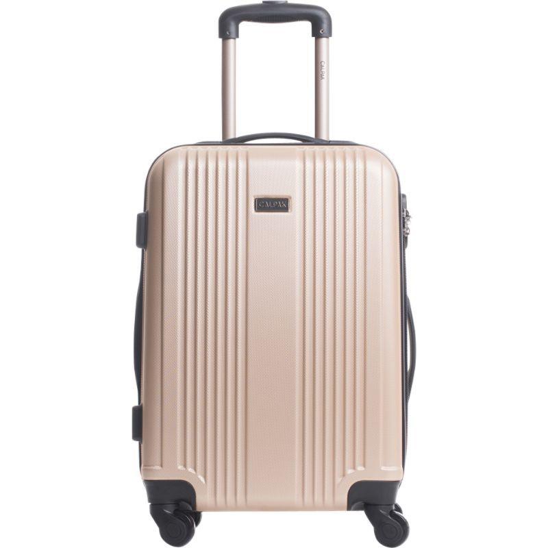 カルパック メンズ スーツケース バッグ Torrino II 20 Lightweight Expandable Hardside Carry-On Champagne