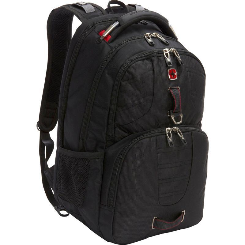 スイスギアトラベルギア メンズ バックパック・リュックサック バッグ Scansmart Backpack 5903 - EXCLUSIVE BlackRED