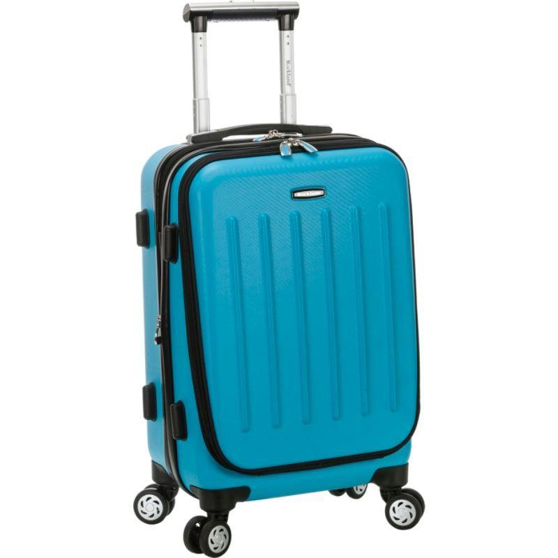 ロックランド メンズ スーツケース バッグ Titan 19 ABS Spinner Carry On Turquoise