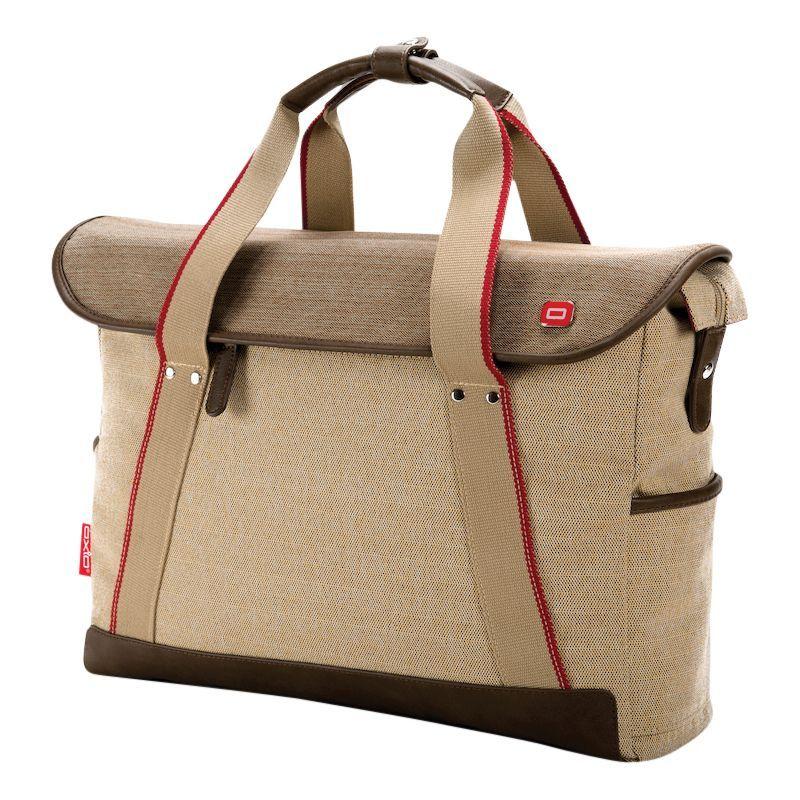 オキシオ メンズ スーツケース バッグ Rykke Laptop Brief Beige