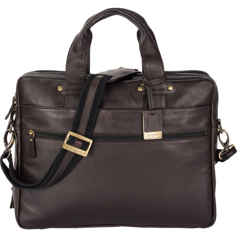 cb34526d14 ブガッティ メンズ スーツケース バッグ Pereira Executive Briefcase Leather Cognac