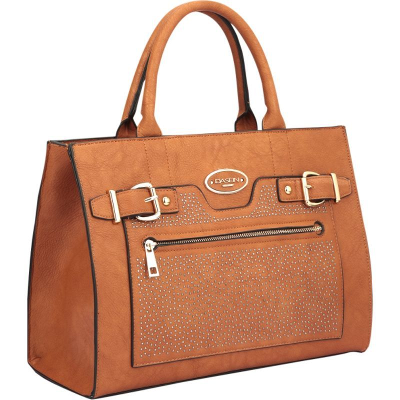 ダセイン メンズ トートバッグ バッグ Belted Medium Tote Bag Brown