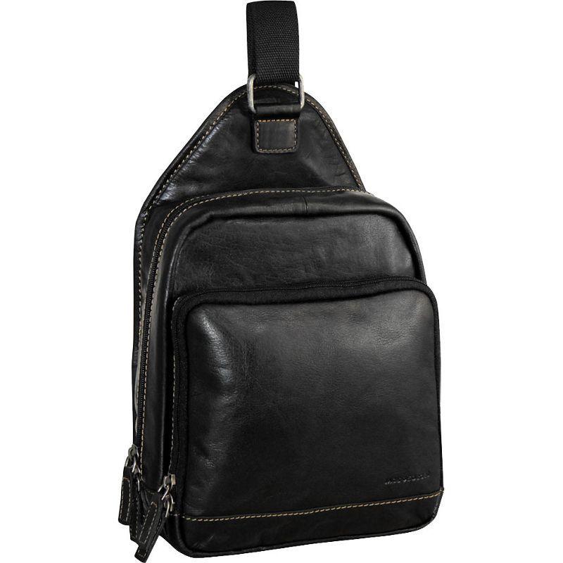 ジャックジョージス メンズ ショルダーバッグ バッグ Voyager Sling Bag Black