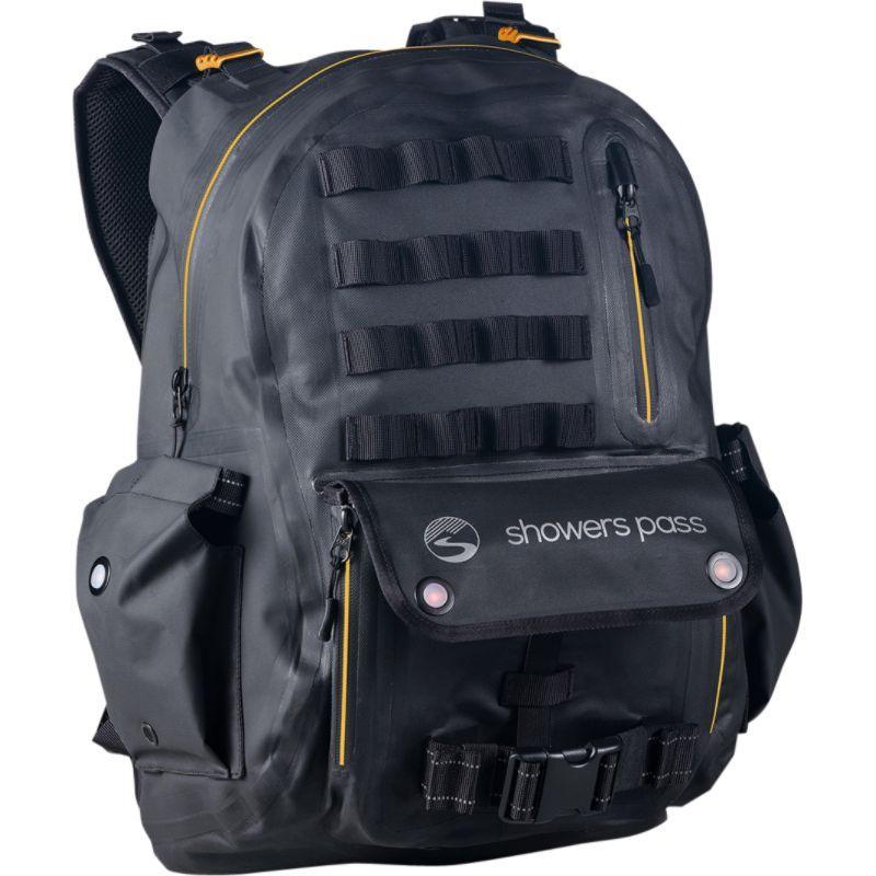 シャワーパス メンズ バックパック・リュックサック バッグ Utility Waterproof Backpack Gold/Black