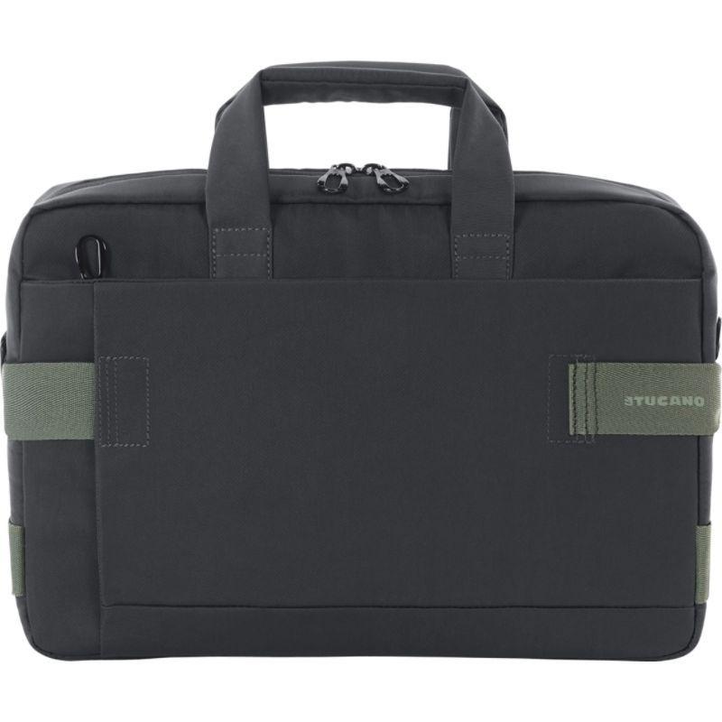 ツカーノ メンズ スーツケース バッグ Stria Slim Laptop Bag 13.3-14 Black