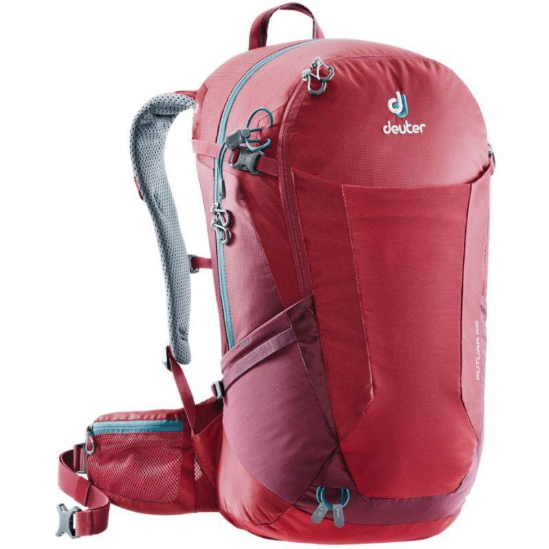 ドイター メンズ バックパック・リュックサック バッグ Futura 28 Hiking Pack Cranberry/Maroon