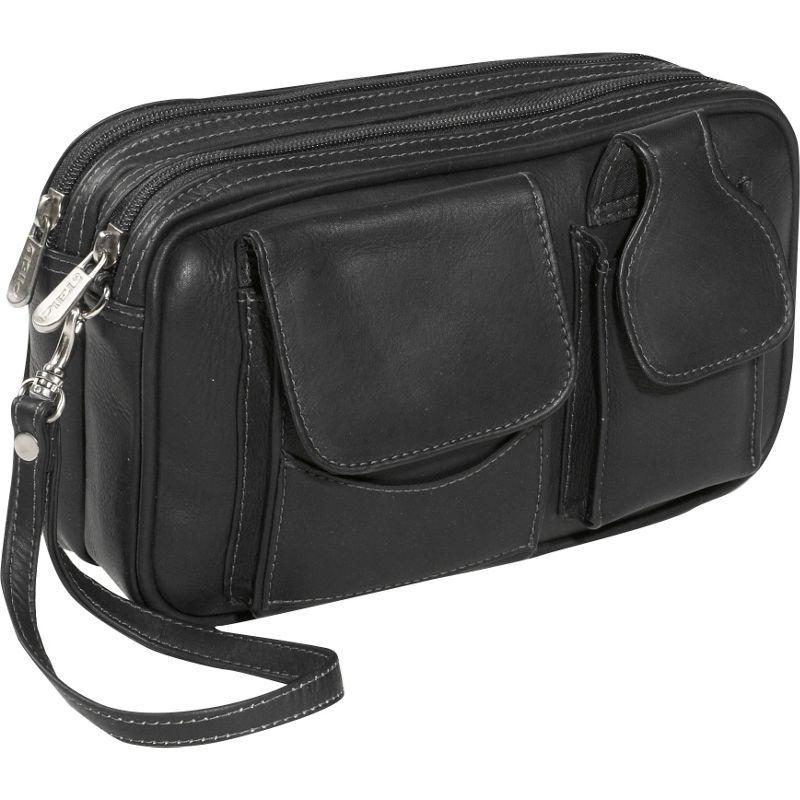 ピエール メンズ 財布 アクセサリー Carry-All Men's Bag Black