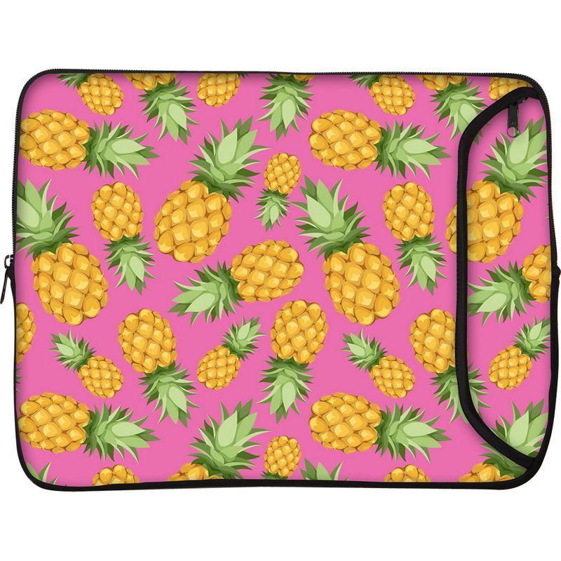 デザイナースリーブス メンズ スーツケース バッグ 17 Designer Laptop Sleeve Pineapples