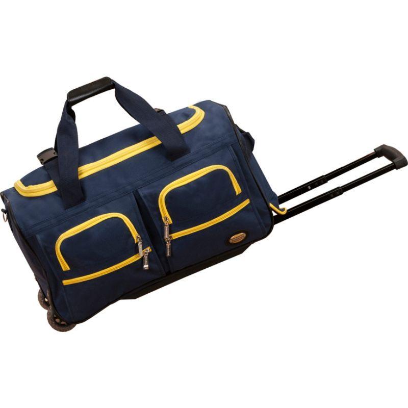 ロックランド メンズ スーツケース バッグ 22 Rolling Duffle Bag Navy