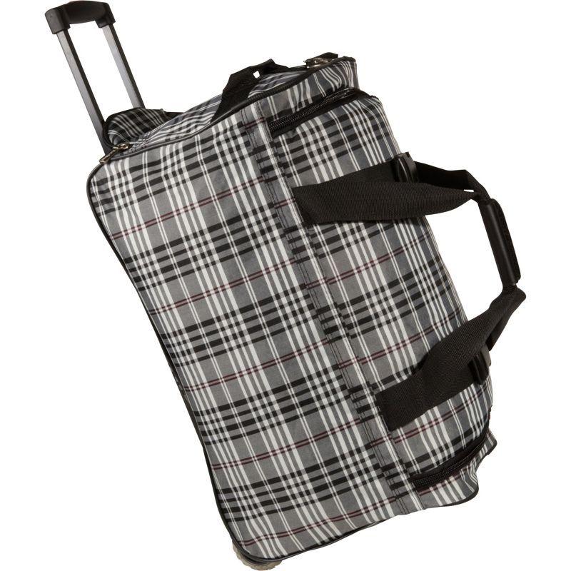 ロックランド メンズ スーツケース バッグ 22 Rolling Duffle Bag Black Cross