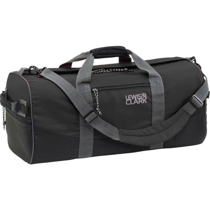 ルイスエヌクラーク メンズ スーツケース バッグ Uncharted Duffel Bag - X-Small Black