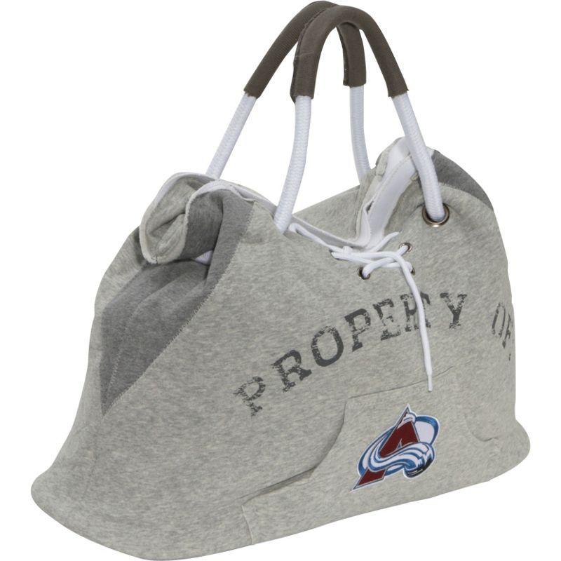 リトルアース メンズ トートバッグ バッグ NHL Hoodie Tote Grey/Colorado Avalanche Colorado Avalanche