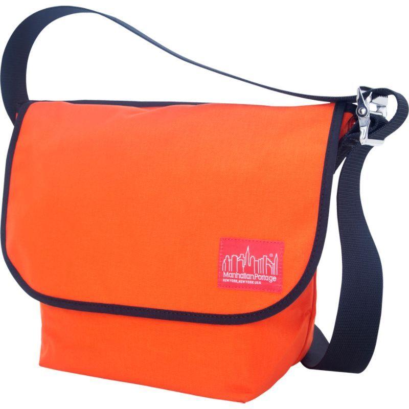 マンハッタンポーテージ メンズ ショルダーバッグ バッグ Vintage Messenger Bag (M) Orange
