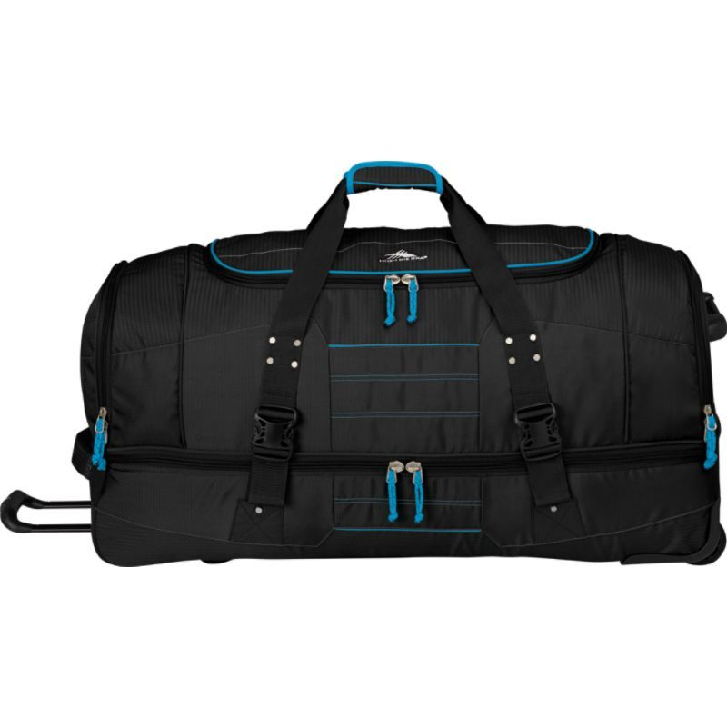 ハイシエラ メンズ スーツケース バッグ Ultimate Access 2.0 Drop Bottom Wheeled Duffel 36 BLACK/BLUE PRINT