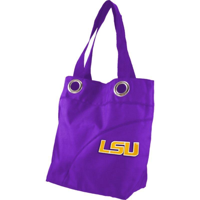リトルアース メンズ トートバッグ バッグ Color Sheen Tote - SEC Teams Louisiana State University