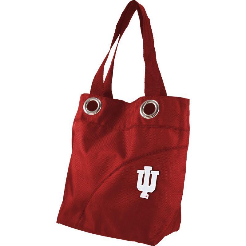 リトルアース メンズ トートバッグ バッグ Color Sheen Tote - Big Ten Teams Indiana University