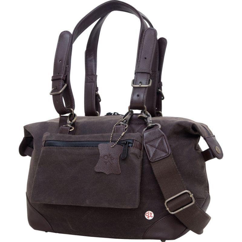 トーケン メンズ スーツケース バッグ Lafayette Waxed Duffel Bag (XS) Dark Brown