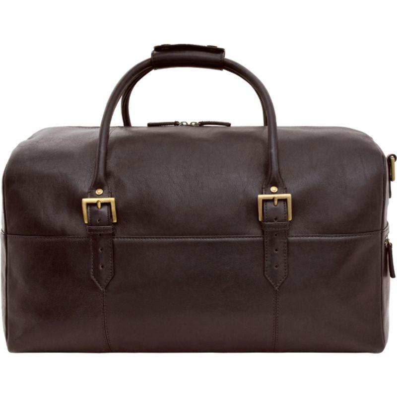 ハイデザイン メンズ スーツケース バッグ Charles Leather Cabin Travel Duffle Weekend Bag Brown