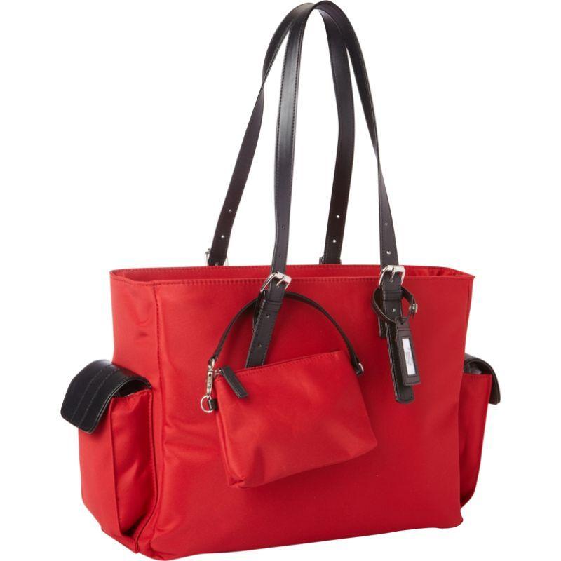 ウーメンインビジネス レディース スーツケース バッグ 14 Slim Liberator Notebook Case Red / Black
