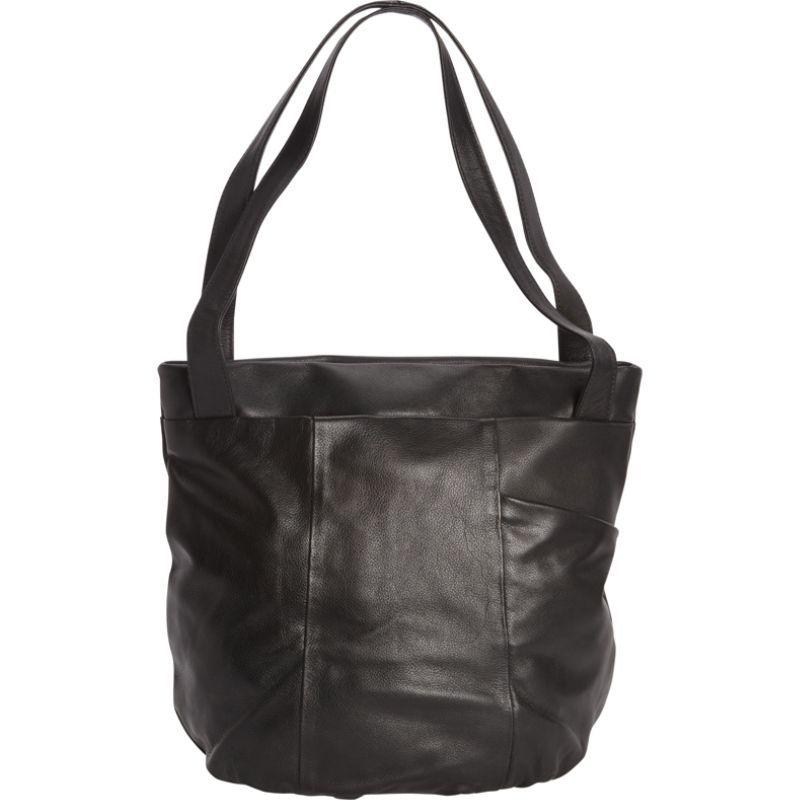 デレクアレクサンダー メンズ トートバッグ バッグ Large Top Zip Tote Black