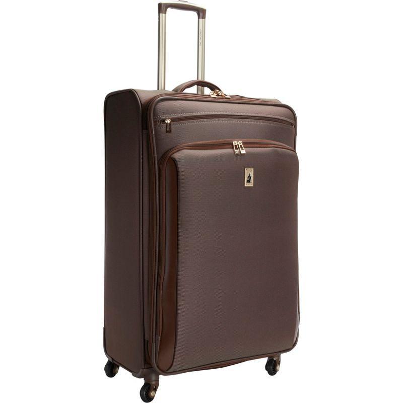 ロンドンフォグ メンズ スーツケース バッグ Kensington 29 Expandable Spinner Bronze