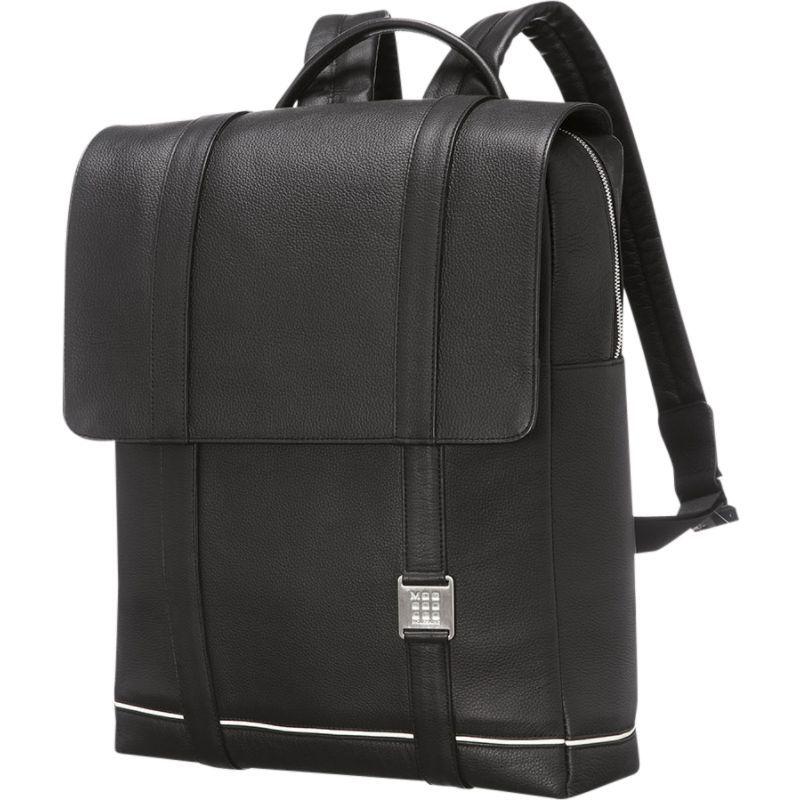 モレスキン メンズ スーツケース バッグ Lineage Leather Backpack Black