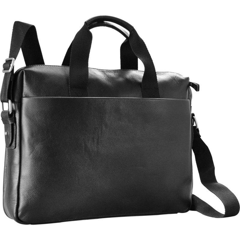 アールアンドアール メンズ スーツケース バッグ 14 Laptop Briefcase Black