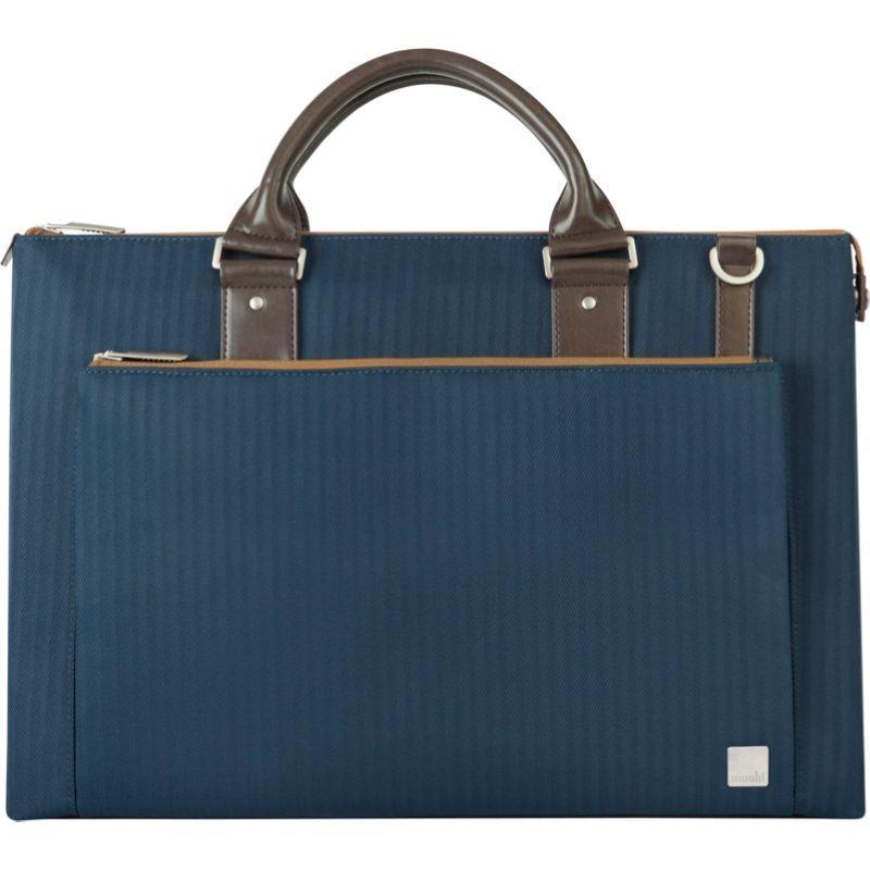 モシ メンズ スーツケース バッグ Urbana Laptop Brief Bahama Blue