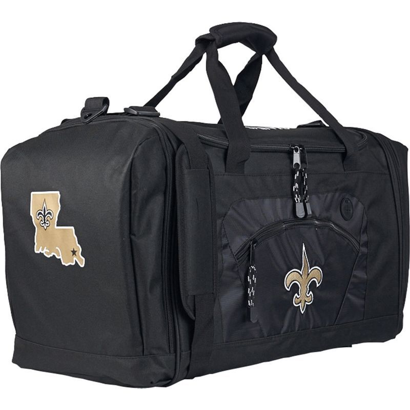 NFL メンズ ボストンバッグ バッグ Roadblock Duffel New Orleans Saints