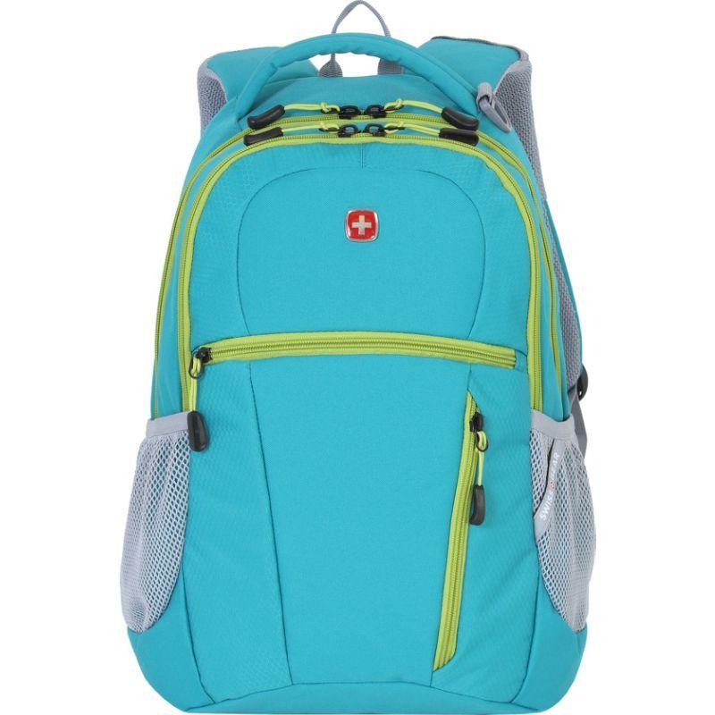 スイスギアトラベルギア メンズ バックパック・リュックサック バッグ 5969 Laptop Backpack Teal