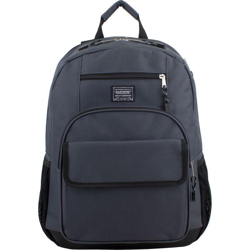 イーストポート メンズ バックパック・リュックサック バッグ Tech Backpack Greystone/Black