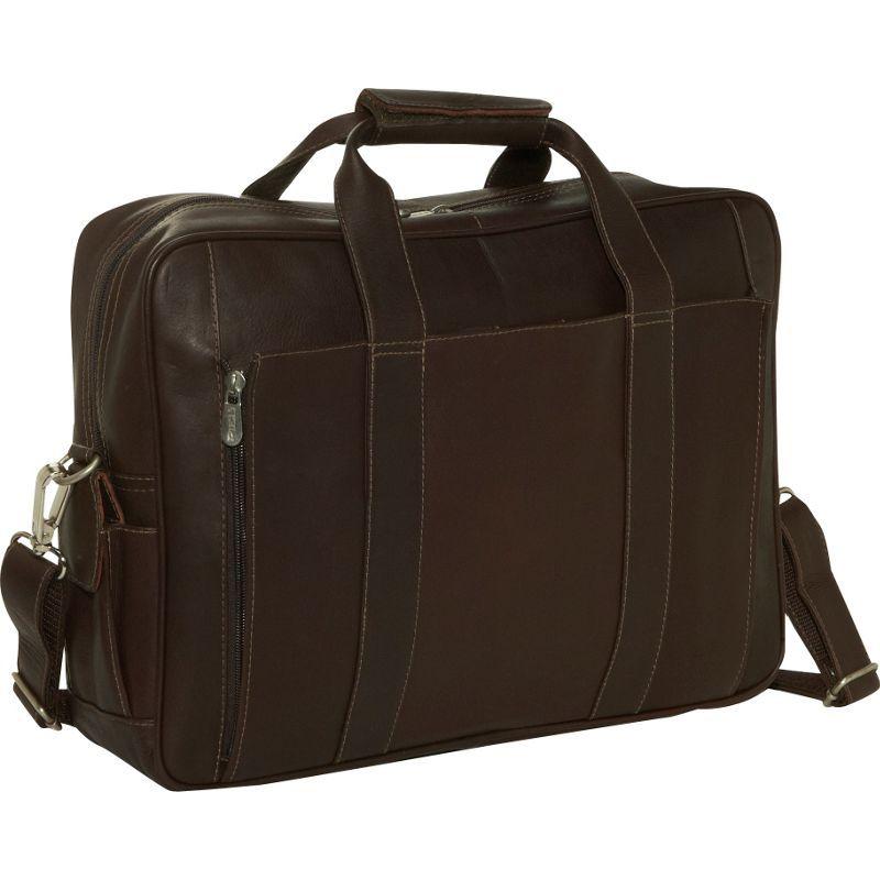 ピエール メンズ スーツケース バッグ Computer Briefcase Chocolate