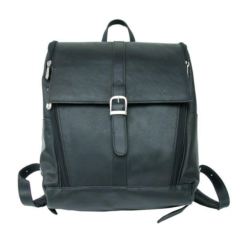 ピエール メンズ スーツケース バッグ Slim Computer Backpack Black