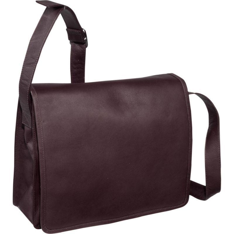 ピエール メンズ ボディバッグ・ウエストポーチ バッグ Large Handbag with Organizer Chocolate