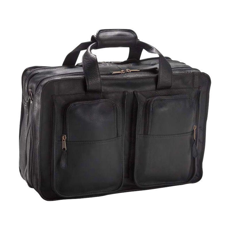 クレバ メンズ スーツケース バッグ 17 Flight Bag Vachetta Black