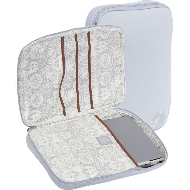 エミーバトラー メンズ スーツケース バッグ NOLA Laptop Wrap Temple Doors Dove Gray