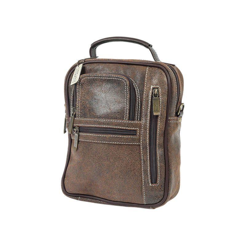 クレアーチャイス メンズ ショルダーバッグ バッグ Medium Man Bag Distressed Brown