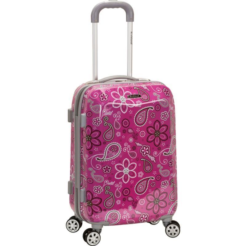 ロックランド メンズ スーツケース バッグ 20 Vision Polycarbonate Carry-On Bandana