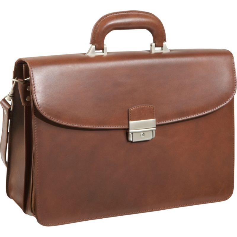 アメリ メンズ スーツケース バッグ APC Functional Leather Executive Briefcase Brown